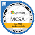 MCSA-SQL-Data-Base-Development